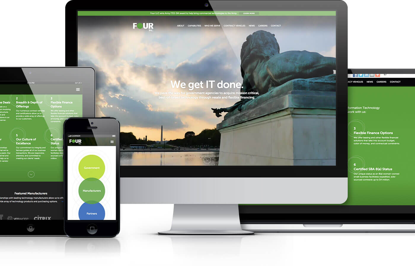 Web Design Company For Government Contractor Northern Va Herndon Va